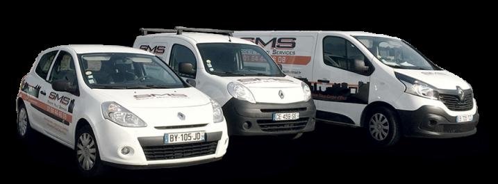3 voitures SMS